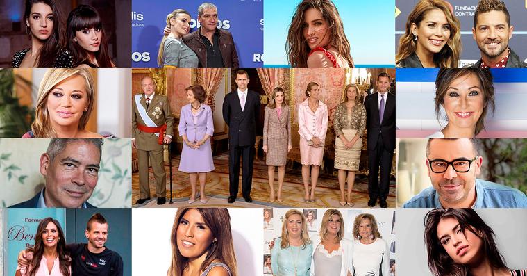 Tota l'actualitat dels personatges famosos i més populars de la crònica social de la premsa del cor i de la televisió