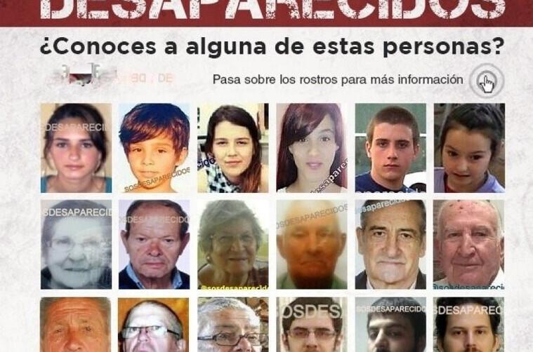 Desaparecidos y búsquedas
