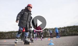 Classes de patinatge a Decathlon Reus