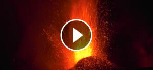 Erupció del volcà Etna