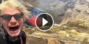 Joves al volcà