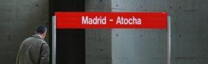 Record a l'estació d'Atocha de Madrid