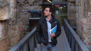Edu Polo és casteller de la Colla Jove Xiquets de Tarragona.