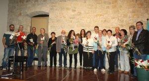 Els participants en l'Hora Poètica.