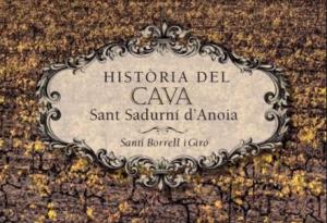 """Portada de """"La Història del Cava"""" de Santi Borrell"""
