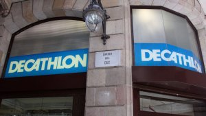 Decathlon, botiga especializada en articles d'esport