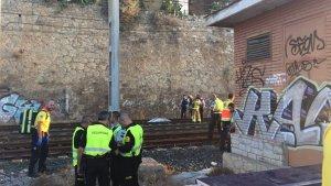El cadàver s'ha trobat a pocs metres de l'estació de Tarragona.