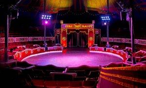 El Circ Raluy ja s'ha instal·lat al Parc del Turonet