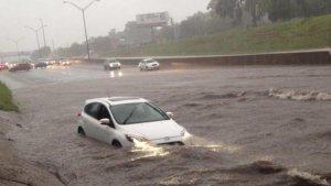 Es podrien produir petites inundacions conseqüència de les fortes pluges
