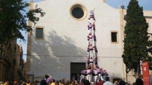 La Jove de Tarragona s'apunta el seu primer castell de 9 de l'any a casa seva