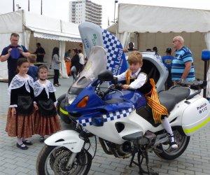 L'estand de la Policia Local va ser un dels més visitats.