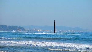 10 platges catalanes, amb bandera vermella
