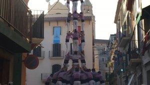 Després d'una dura caiguda de 4 de 9 amb folre, la Jove de Tarragona ha reaccionat i l'ha completat en ronda de repetició