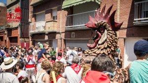 El Prat de Llobregat emula els 'encierros' dels sanfermines amb la festa del Sant Pollín