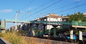 Imatge del pont de vianants