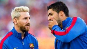 Messi i Suárez.