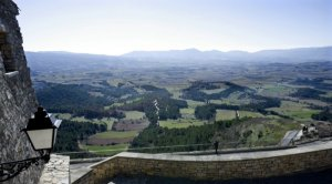 Paisatge de la Conca vist des de Forès.