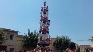 3 de 8 amb l'agulla de la Jove de Tarragona a Llorenç del Penedès.