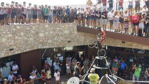 Àngel Batlle ha delectat els aficionats a la Copa del Món celebrada a Pujalt aquesta setmana