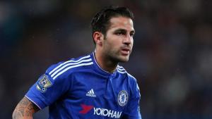 Cesc Fàbregas en un dels partits amb el Chelsea.