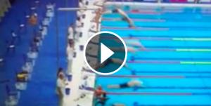 El nedador espanyol que ha perdut una competició per homenatjar les víctimes de l'atemptat