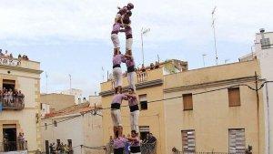 El primer 2d9fm descarregat per la Colla Jove Xiquets de Tarragona.