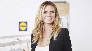 Heidi Klum diseñará una colección para Lidl