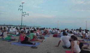 Imatge de l'exercici de ioga.