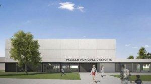 Imatge del Pavelló Municipal d'Esports de Vila-seca