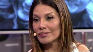 Ivonne Reyes, en la seva aparició a Sálvame.