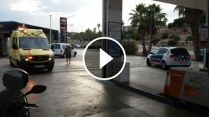 La gasolinera de Calafell que ha estat atracada