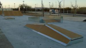 L'actual skatepark de Vila-seca