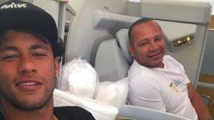 Neymar, juntament amb el seu pare