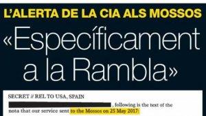 Portada de 'El periódico' d'avui, 31 d'agost de 2017