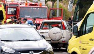Punt en què ha tingut lloc l'accident a Salou