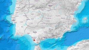 Terremoto identificado en Cádiz, hoy 07 de agosto