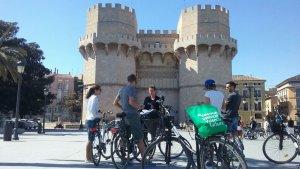 Turistes a València