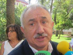 """1-O.- UGT diu que des del sindicat """"no s'ha fet cap afirmació"""" per una vaga general a Catalunya"""