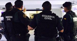 Agents de la Guàrdia Civil, en una imatge d'arxiu.