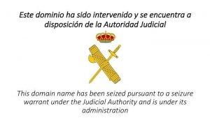 AMP.- 1-O.- El TSJC ordena investigar si el Govern va activar noves webs del referèndum