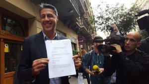 CATALUNYA.-AMP.- 1-O.- Albiol denuncia a Puigdemont en la Autoritat de Protecció de Dades por usar sus datos