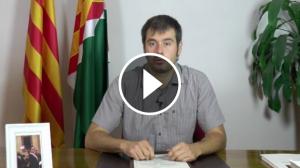 Declaració Institucional de l'alcalde de Cerdanyola del Vallès, Carles Escolà