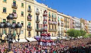Diada castellera del Primer Diumenge de Festes de Santa Tecla