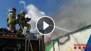 Els bombers han sufocat el foc a l'Ap-7