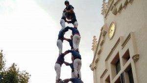 Els Capgrossos de Mataró van portar el 3d9f al Prat de Llobregat.