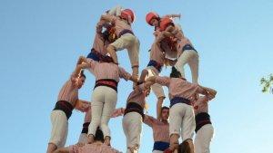 Els Xiquets de Tarragona han tingut fins a 10 estrenes de tronc en aquesta diada.