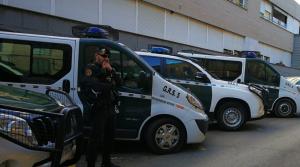 Imatge de la Guàrdia Civil a Terrassa.