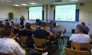 Imatge d'una sessió de formació.
