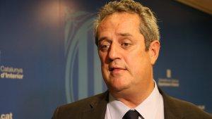 Joaquim Forn declara que els Mossos no acceptaran la coordinació del govern espanyol.
