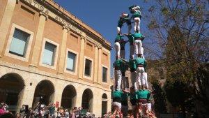 La diada s'ha celebrat a la plaça del Pallol, on antigament ja s'hi havien fet castells.